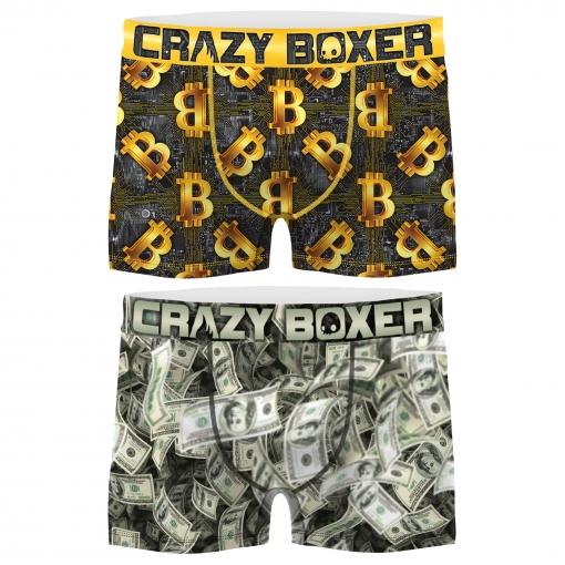 Búho carencia veinte  Pack 2 Calzoncillos Crazy Boxer Dinero Para Hombre con Ofertas en Carrefour  | Las mejores ofertas en moda - Carrefour.es