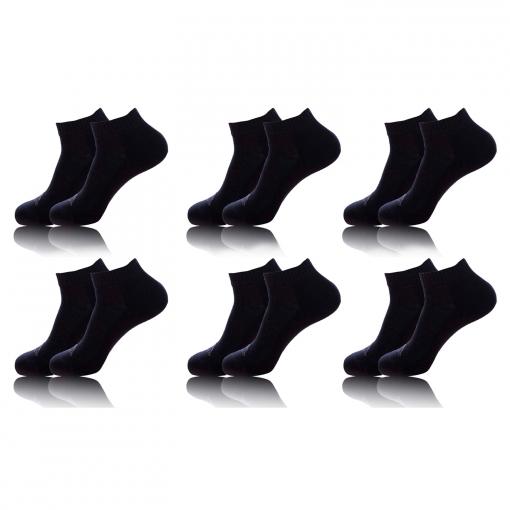 recuperar Fracción alegría  Pack 6 Pares De Calcetines Kappa En Color Negro con Ofertas en Carrefour |  Las mejores ofertas en moda - Carrefour.es