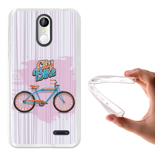 Becool® - Fundas Gel Ciclista De Ciudad Para Leagoo M5 Plus