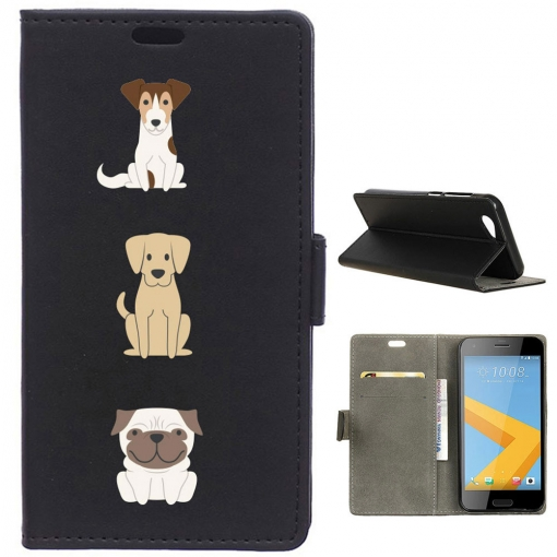 German Tech® - Funda Libro Tres Perros Para Htc One A9s