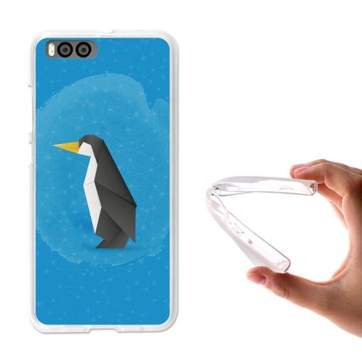 Becool® - Fundas Gel Pingüino Origami Para Xiaomi Mi6 | Las mejores ...