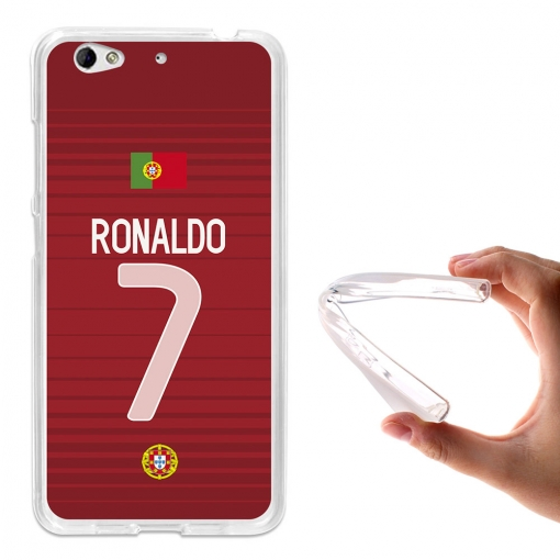 Becool® - Fundas Gel Ronaldo Para Weimei We Plus
