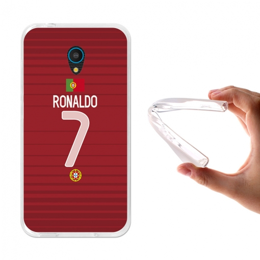 Funda Gel Para Alcatel U5 3g. Ronaldo - Becool®
