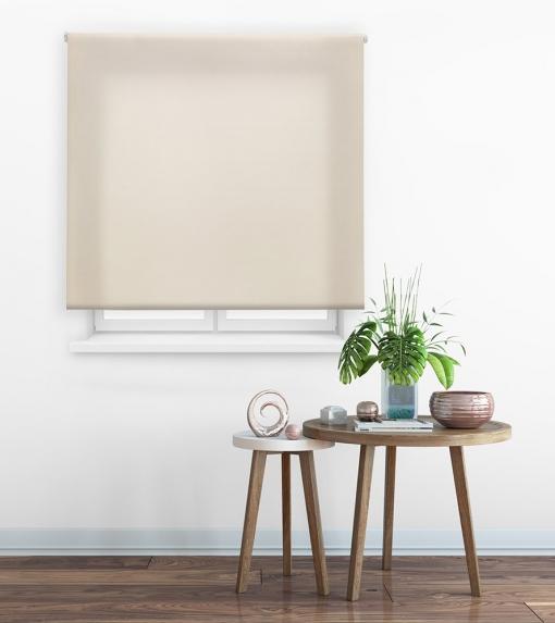 Estor Enrollable Happystor Clear Tejido Traslúcido 102-beige 160x175
