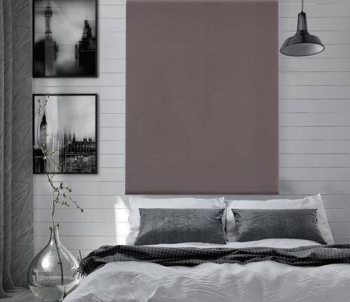 Estor Enrollable Happystor Dark Opaco Liso 205-gris 105x180