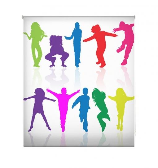 Estor Enrollable Happystor Estampado Digital Juvenil Hscj1396 155x180