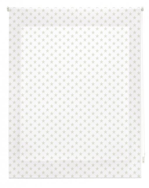 Estor Enrollable Happystor Estampado Digital Stars Beige 150x180