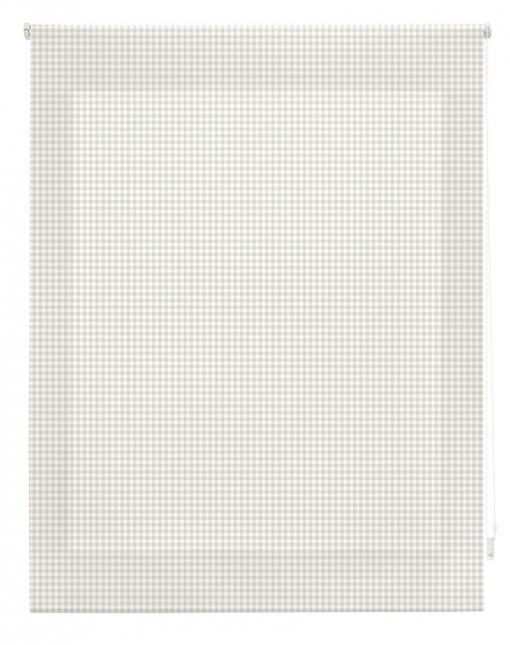 Estor Enrollable Happystor Estampado Digital Vichy Beige 175x180