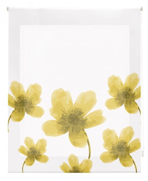 Estor Enrollable Happystor Estampado Digital Flores Hscc91004 80x180