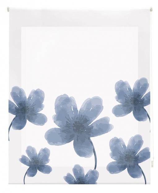 Estor Enrollable Happystor Estampado Digital Flores Hscc91005 185x180