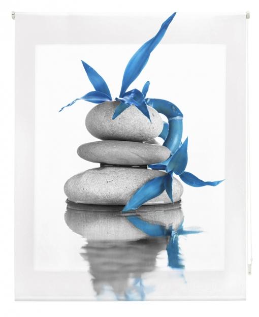 Estor Enrollable Happystor Estampado Digital Zen Hscz7973 90x250
