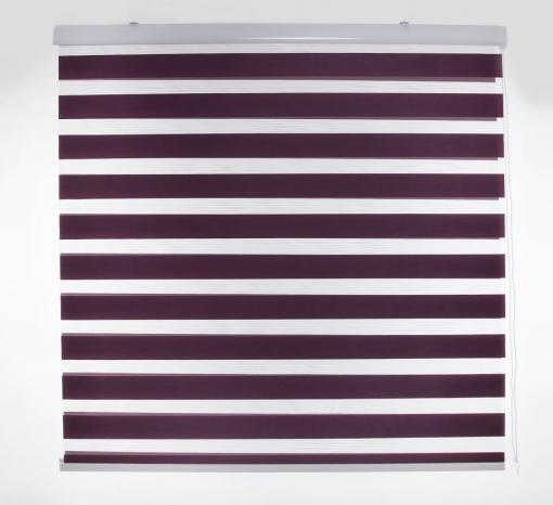 Estor Enrollable Happystor Day Noche Y Dia Liso 305-violeta 90x180