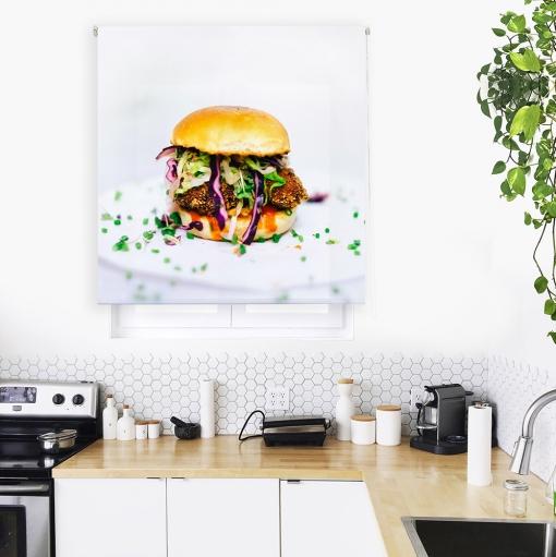 Estor Enrollable Happystor Estampado Digital Cocina Hsccexc058001 140x180
