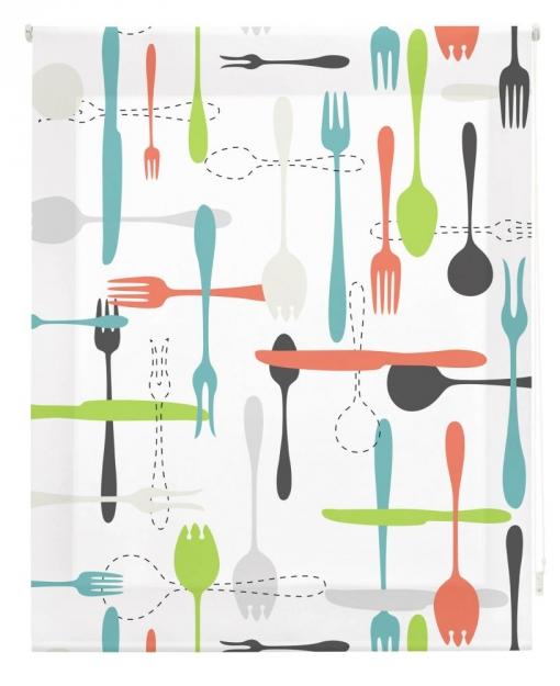 Estor Enrollable Happystor Estampado Digital Cocina Hscc82159 115x250