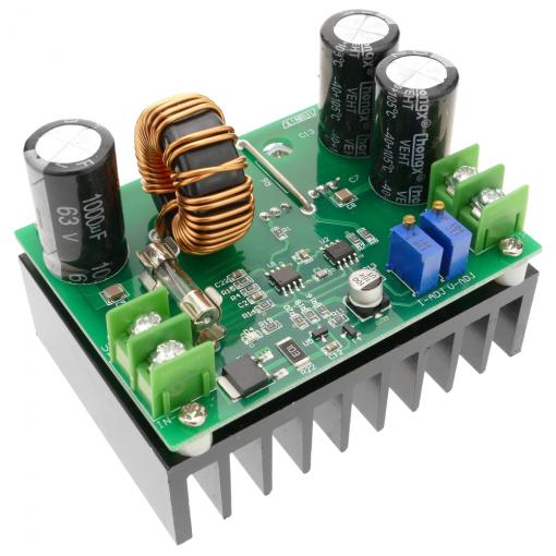 Bematik - Fuente De Alimentación Dc De 11-80v A 12-80v De 600w Con Amplificador Regulado Dw-0380 Ak04100