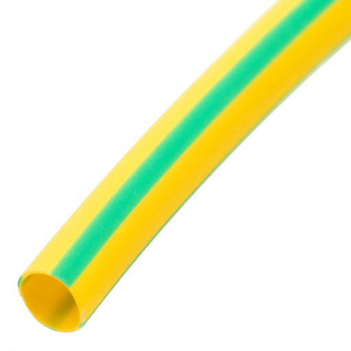 Bematik - Tubo Termoretráctil 2:1 Lshf Amarillo-verde De 2,5mm Bobina 3m Ha02200