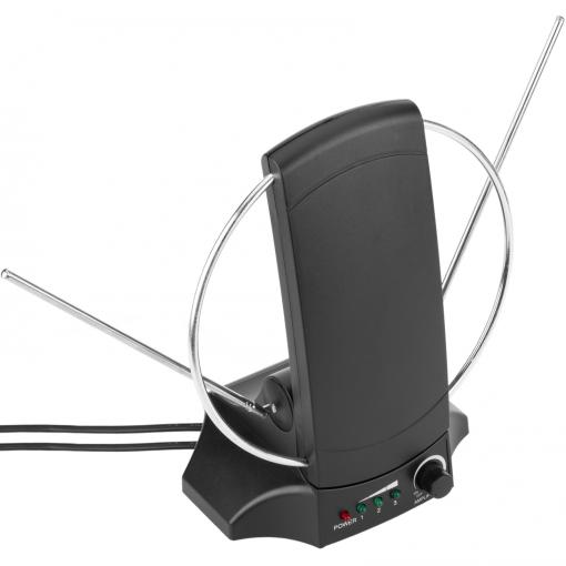 Bematik - Antena De Interior De Tv Tdt Uhf Vhf Dvbs De 36db Tipo Panel  Orientable Tt08200 con Ofertas en Carrefour | Las mejores ofertas de  Carrefour
