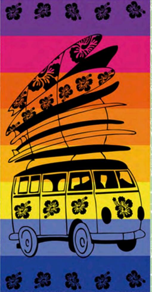 Toalla Playa 432 A Sun&surf 95x175 Single