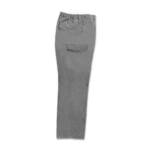 Pantalon Multibolsillo Tergal Gris 58