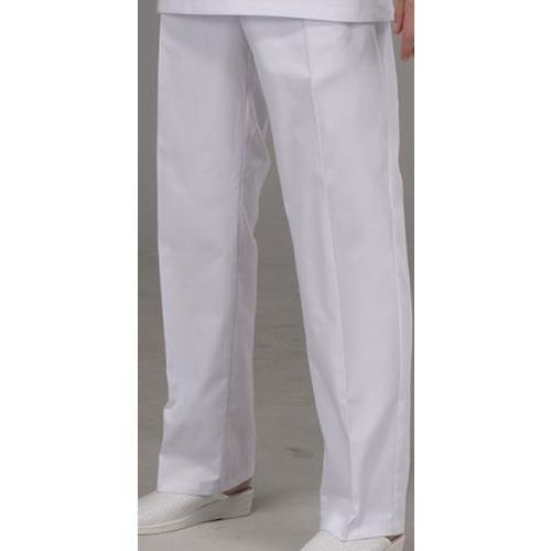 Pantalon Goma Cremallera Blanco Psu92- 4