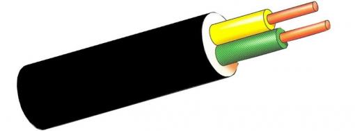 Cable Manguera Negra 100m - Sediles - Acrilic/1kv - 2x1,5 Mm