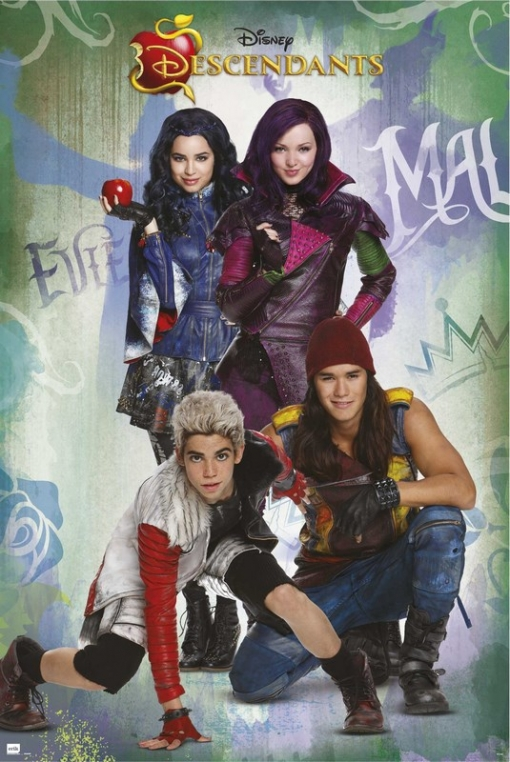 Maxi Poster Disney Descendants
