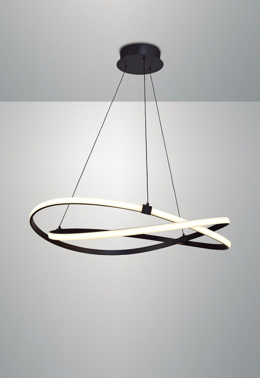 Lámpara Led 60w Temperatura 2800k - Luz Cálida-  Colección Infinity Brown Oxide