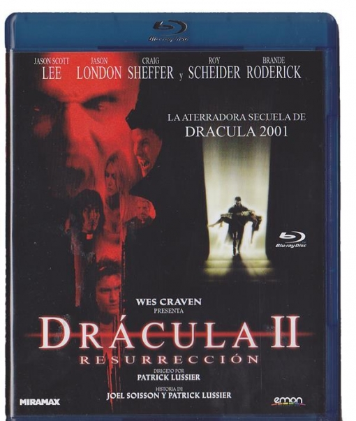 Dracula Ii : Resurreccion (blu-ray) (wes Craven Presents Dracula Ii: Ascension)
