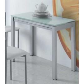 Mesa Cocina Extensible Frontal Blanca O Negra - | Las mejores ...