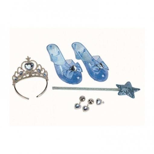 Conjunto Princesa Azul O Rosa 1 Unidad