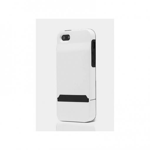 1645ce7ce0f Carcasa Con Tarjetero Oculto Para Iphone 5 Y 5s Blanca   Las mejores ...