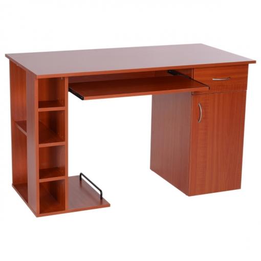 Escritorio Oficina Madera.Mesa De Ordenador Pc 120x60x74 Cm Oficina Despacho Escritorio