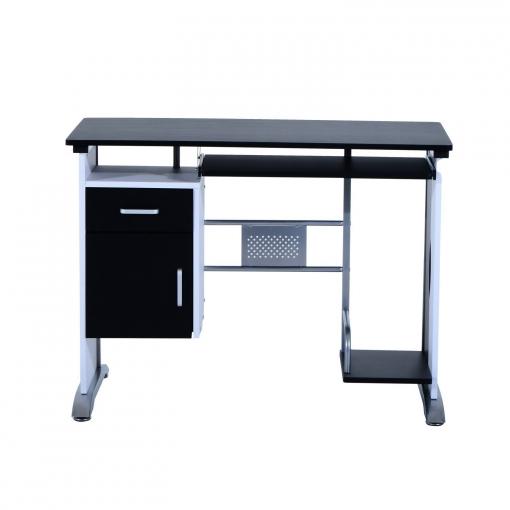 Mesa de ordenador pc despacho escritorio 100x52x75cm for Mesa escritorio carrefour