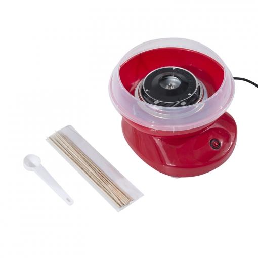 Aluminio De Rojo Para Hacer 27x26x18cm Homcom Maquina Algodón Azucar OPkXZiu