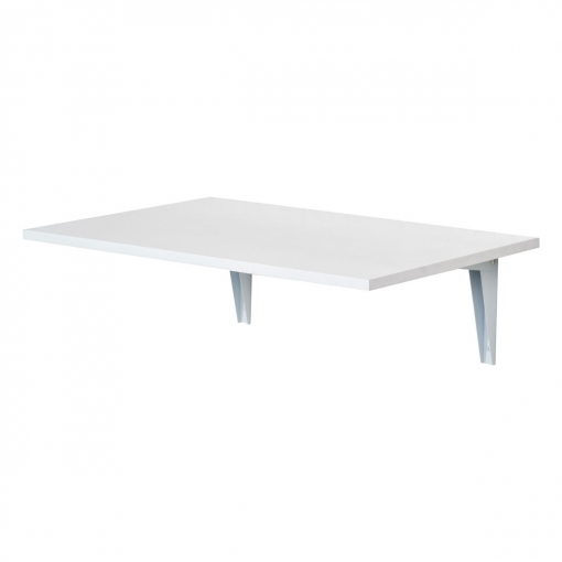 Homcom Mesa Plegable Madera Blanco 60x40x1,5cm | Las mejores ofertas ...