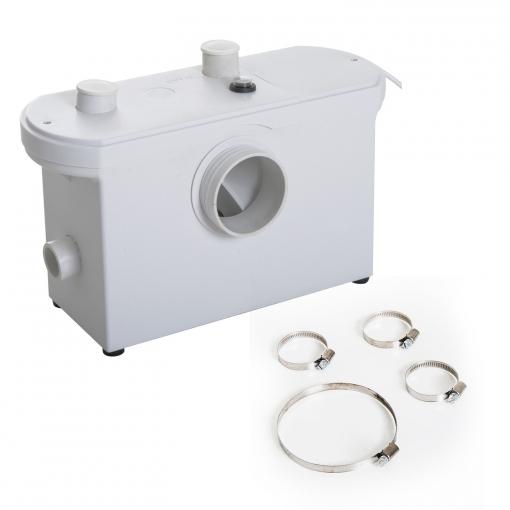 Homcom Bomba Trituradora De Agua Residual Para Baño Lavabo ...