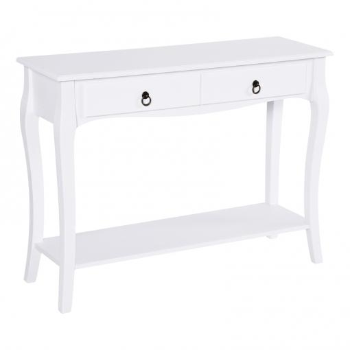 Homcom® Mesa Consola Aparador Salón Comedor Mueble Recibidor Con ...