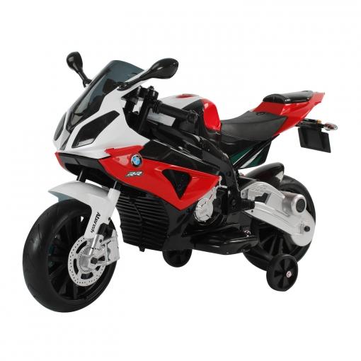 c447e09ae4d81 Homcom Coche Correpasillos A Batería Niños 3-8 Años Moto Eléctrica Infantil  12v Con Luces