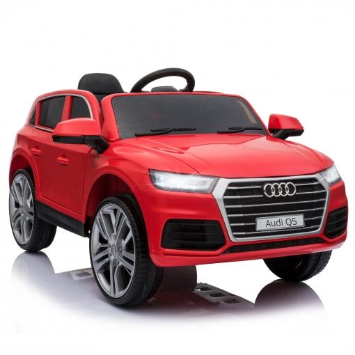 Homcom® Coche Eléctrico Audi Q5 Rojo Para Niños Mayores De 3 Años