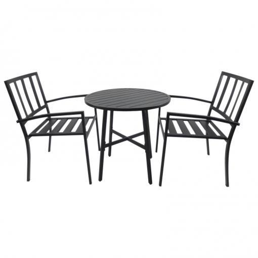 Outsunny® Conjuntos De Mesa Y 2 Sillas De Jardín Muebles Comedor ...