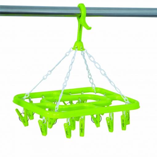 Secador Plastico  Ropa Interior-modelo Verde