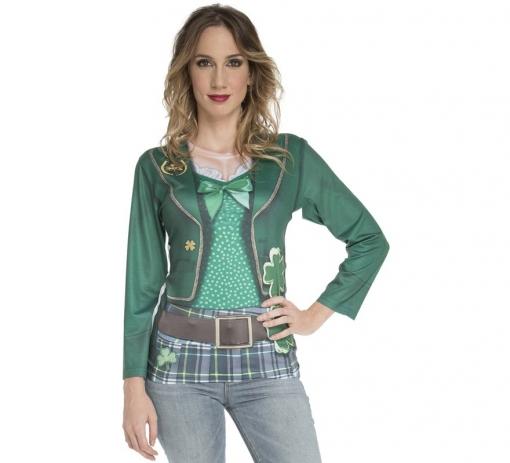 Mujer San Camiseta Duende Disfraz Patricio Para Irlandesa rCQxdsht