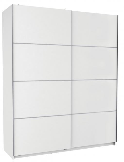 Armario puertas correderas con altillo y barra para colgar for Armario puertas correderas 100 cm