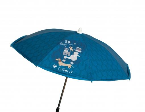 Sombrilla Silla Dogs Azul