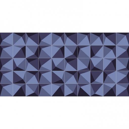 Flooralia - Alfombra Vinilica Moderna, 250x64cm, Azul