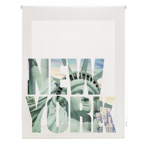 Homeflex - Estor Digital Salon New York, Enrollable,  130x180 Cm