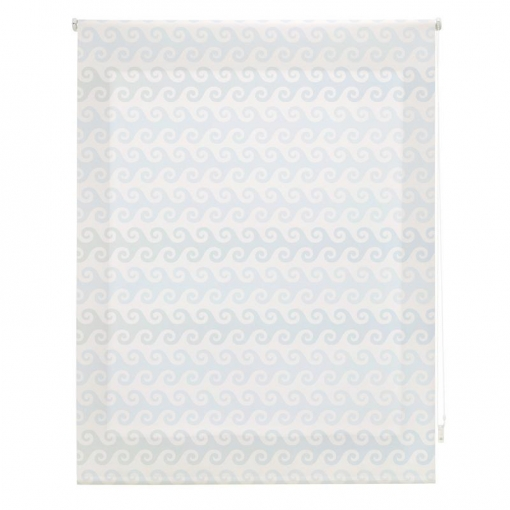Homeflex - Estor Digital Infantil Art Print, Olas, 120x180 Cm