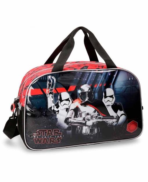 Star Wars Viii Bolsa De Viaje Negra 45cm | Las mejores