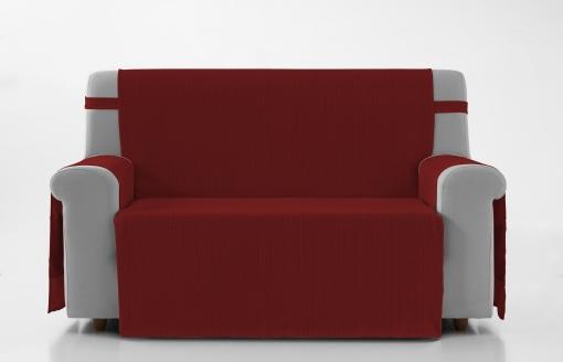 Cubre Sofa Paris 2 Plazas Rojo