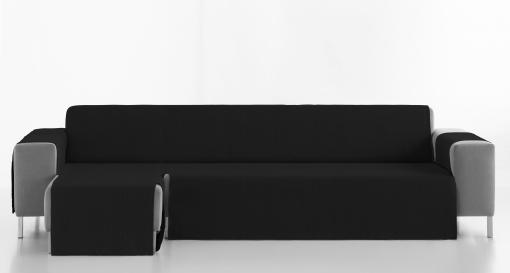 Cubre Sofa Paris 240 Izquierdo Negro